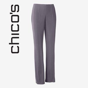 Chico's Easywear Flawless Travel Pants Size 1 NWT